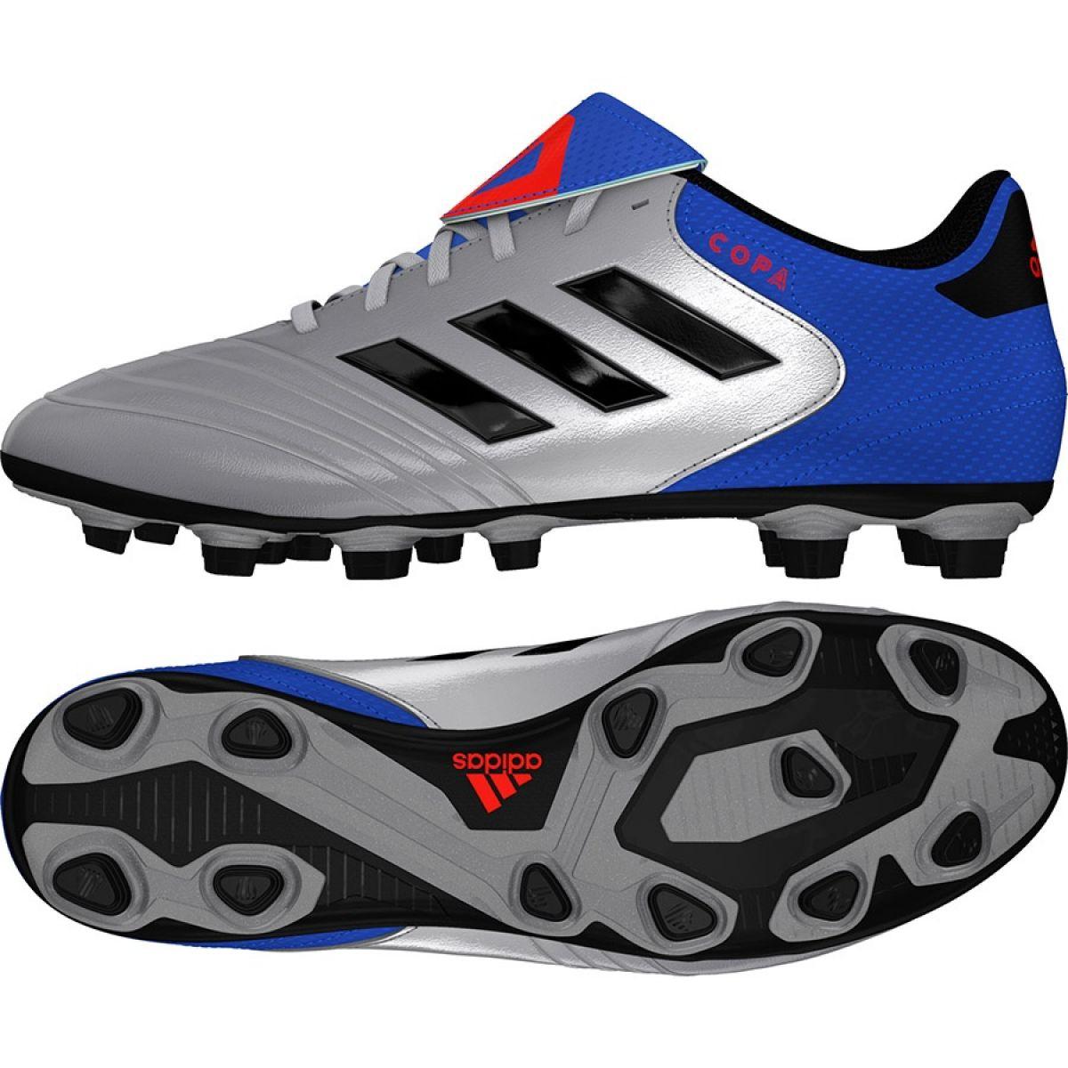 Football shoes adidas Copa 18.4 FxG M DB2458 silver grey