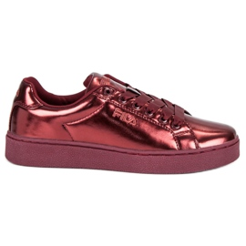 Red Fila Upstage F Low Wmn