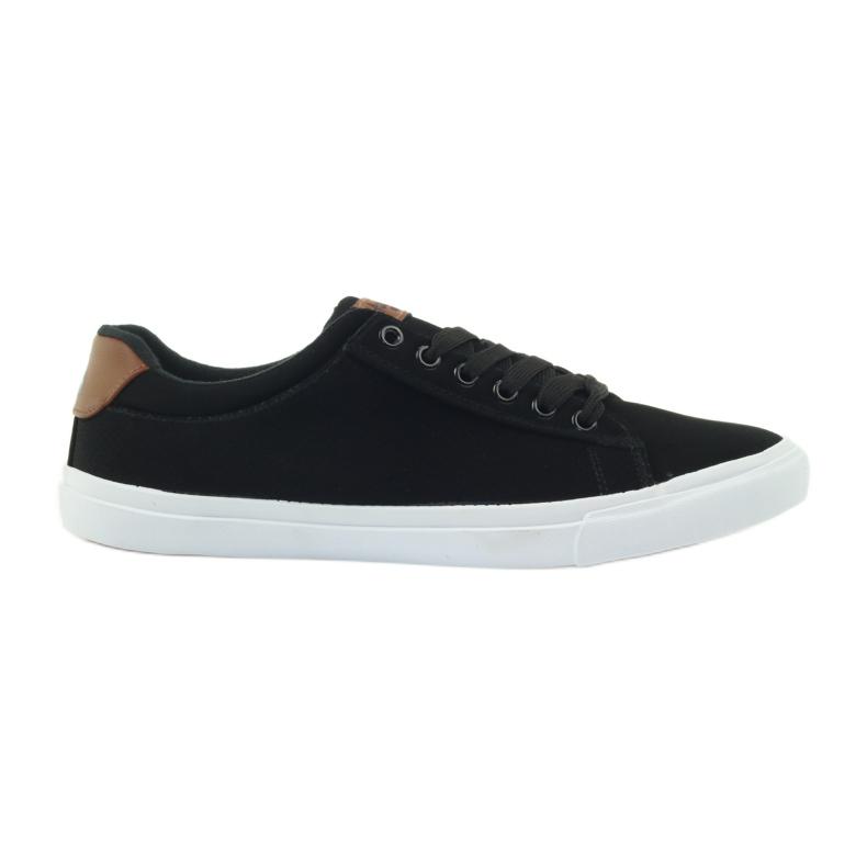 American Club American sneakers sneakers men's shoes black brown