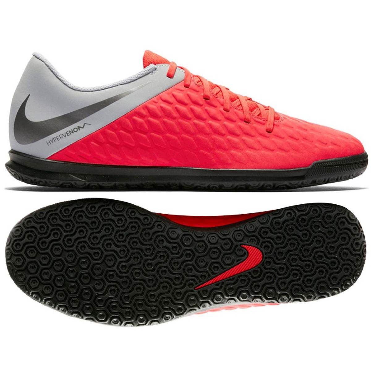 best loved ace84 7cd72 Indoor shoes Nike Hypervenom PhantomX 3 Club Ic Jr AJ3789-600