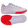 Indoor shoes Nike Mercurial VaporX 12 Academy Ps Ic Jr AH7352-060 grey gray / silver