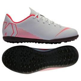 Nike Mercurial VaporX 12 club football shoes Tf Gs Jr AH7355-060