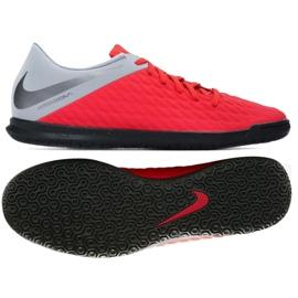Indoor shoes Nike Hypervenom Phantomx 3 Club Ic M AJ3808-600 red red
