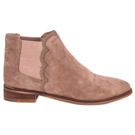 Leather Jodhpur boots brown