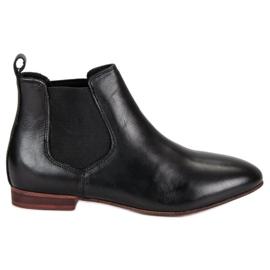 Women's Leather Jodhpur boots black