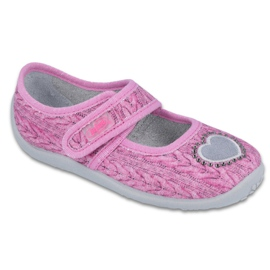Pink Befado children's shoes 945X325