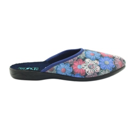 Multicolored 3D Adanex colorful flowers slippers