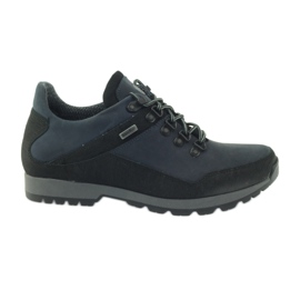 Navy Trekking with membrane Sympatex Badura 3141