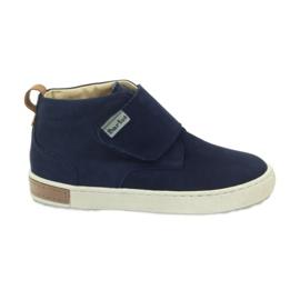 Velcro boots Bartuś 164 navy blue
