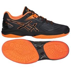 Handball shoes Asics Blast Ff M 1071A002-601 black red