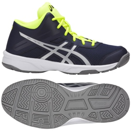 Volleyball shoes Asics Gel Tactic Mt Gs Jr C732Y-400-400