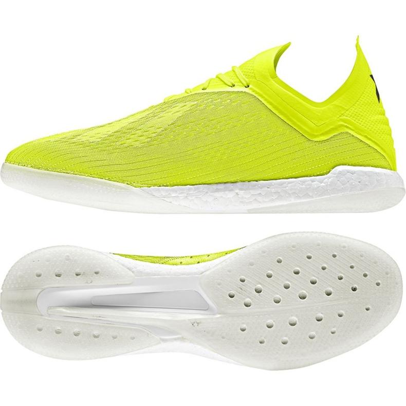 Football shoes adidas X Tango 18.1 Tr M DB2280 yellow yellow