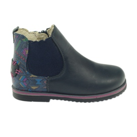 Girls boots Ren But 1479 navy blue