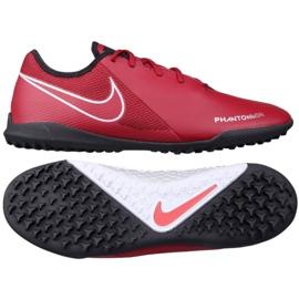 Nike Phantom Vsn Academy Tf M AO3223-606 football boots red multicolored