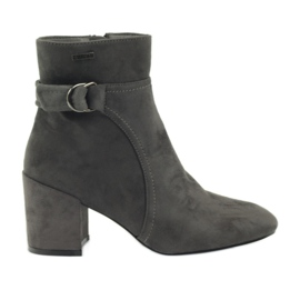 Ankle boots Big Star 274538 gray grey