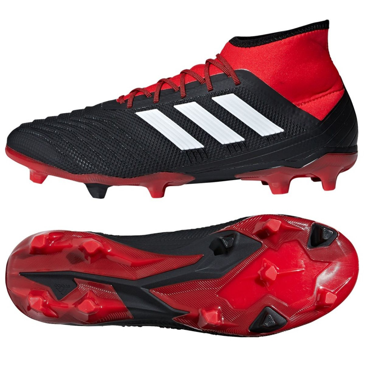 outlet store sale super specials on feet at Football boots adidas Predator 18.2 Fg M DB1999 black black