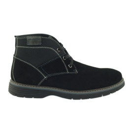 McKey Chest suede ankle shoes 284 black