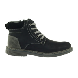 McKey Boots for men, black, tied 288