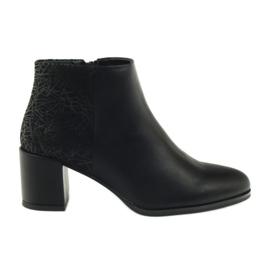 Black high heels shoes Sergio Leone 542