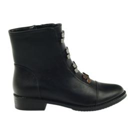 Daszyński Ankle boots SA62 black