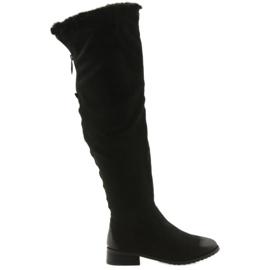 Daszyński Boots with can black 1602