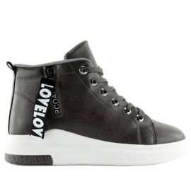 Gray Ankle Sneakers Gray A29 grey