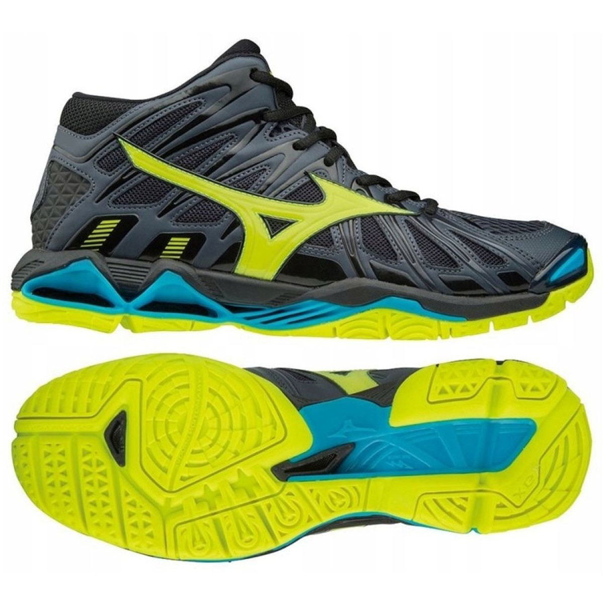 mizuno men's wave tornado x2 mid 30