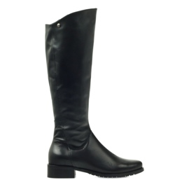 Long black boots Edeo 2206