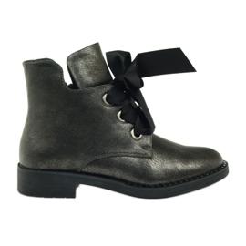 Grey Boots bow Sergio Leone 305