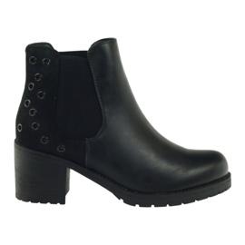 Winter boots black Sergio Leone 527
