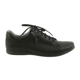 Black Riko men's shoes casual shoes 856