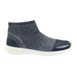 American Club navy blue women's sports shoes 17044