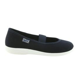 Befado children's shoes komf. up to 23 cm 274Y005 navy