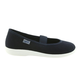 Navy Befado children's shoes komf. up to 23 cm 274Y005