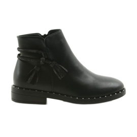 Boots with fringes Filippo black 461