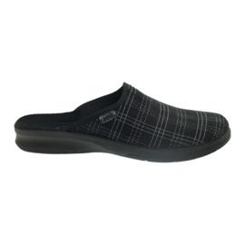 Befado men's shoes slippers 548m011 slippers black