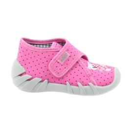 Pink Befado children's shoes 112P185