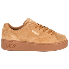 Brown Fila Overstate S Low Wmn