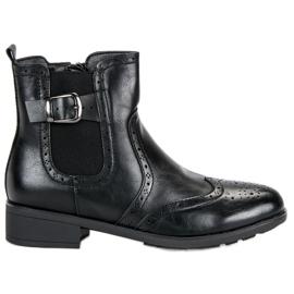 Filippo Black Jodhpur boots
