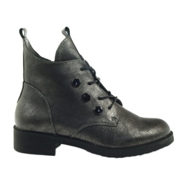 Boots with studs Sergio Leone 308 grey