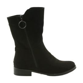 Daszyński SA130 suede black boots
