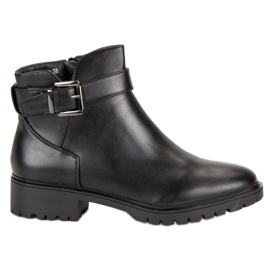 Vices Boots Low With Buckle black