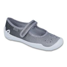 Grey Befado children's shoes 114Y315