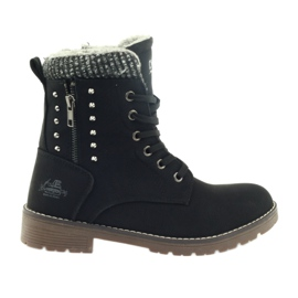 DK Timber boots Tufted on Black
