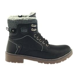 Black DK2025 bonded shoes