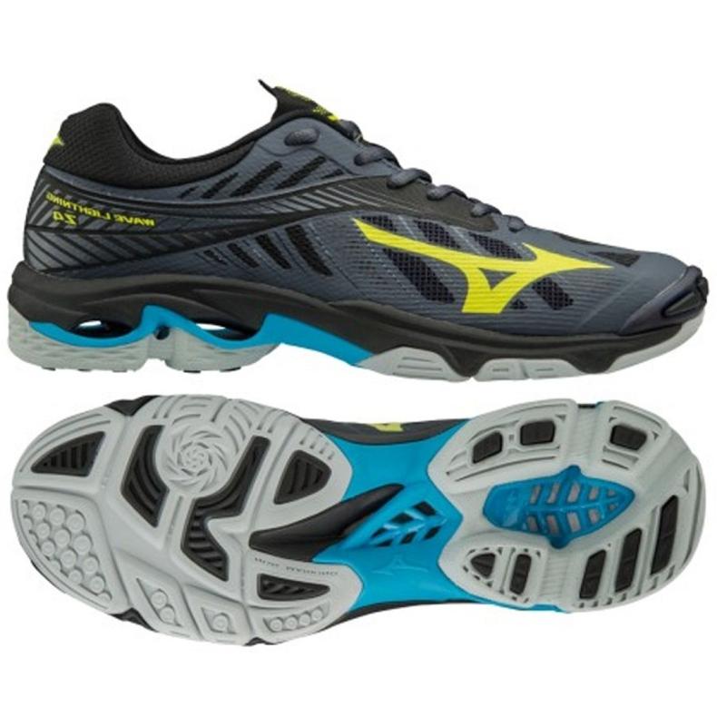 Volleyball shoes Mizuno Wave Lighting Z4 M V1GA180047 of graphite grey
