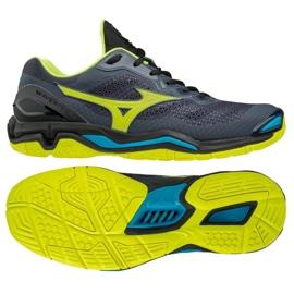 Mizuno Wave Stealth VM X1GA180047 handball shoes grey black
