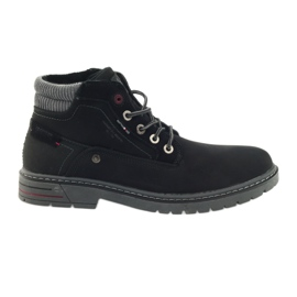 American Club black American trappers shoes winter trekking