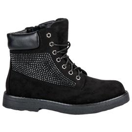 Bestelle black Suede Slippers