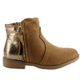 Brown Boots junk boots K1647301 Camel